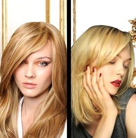 Capelli biondi  due nuance Haute Couture a confronto - Style.it 71c743976098