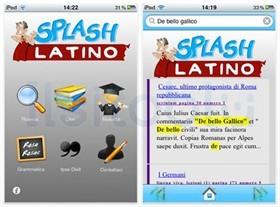 splash latino sul cellulare