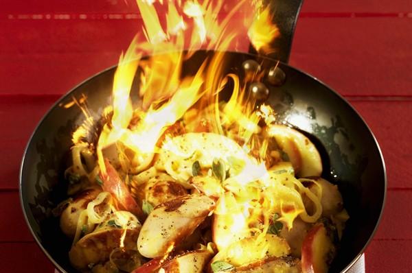 cena flambé - style.it - Cucina Flambè