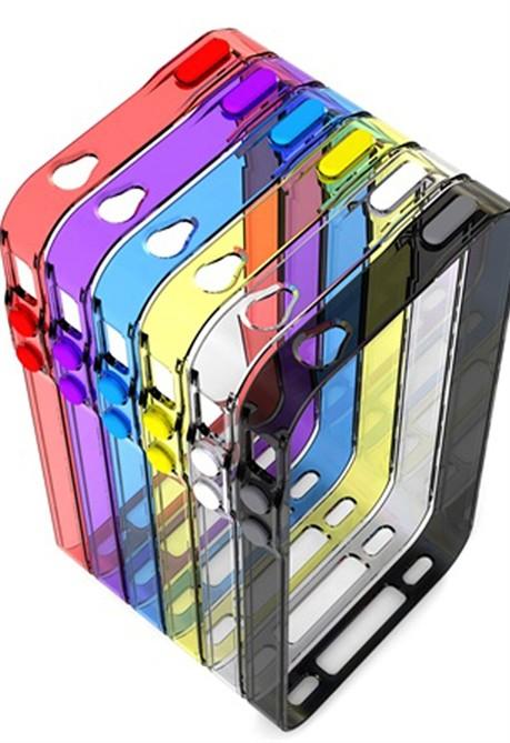 Cover per iPhone 4 e iPhone 4S Doodle di Muvit divertenti e
