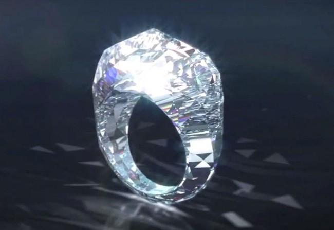 Diamante Di Il Style Primo it Completamente Anello kTwiPuOXZ