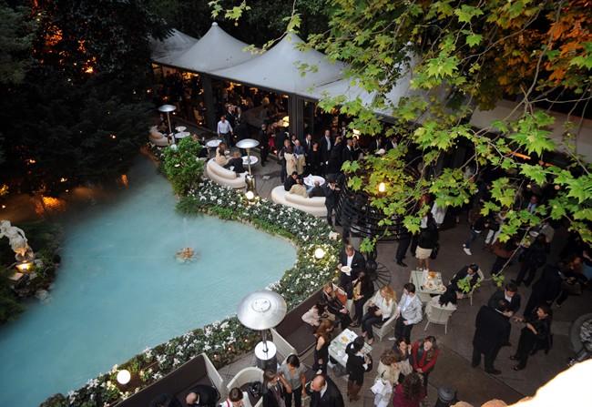 Giardino esterno foto di sheraton diana majestic hotel milano