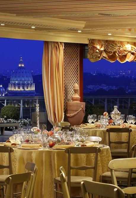 Rome Cavalieri, l\'Hotel del matrimonio da un milione di dollari ...