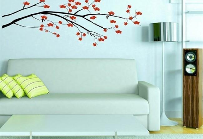 Wall stickers arredare casa con gli adesivi murali - Decorazioni murali ikea ...