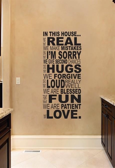 Wall stickers arredare casa con gli adesivi murali - Stickers murali ikea ...