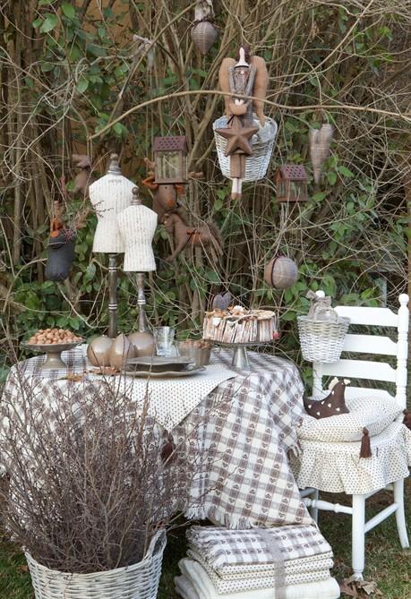 Arredo giardino shabby chic bk75 pineglen for Style arredo