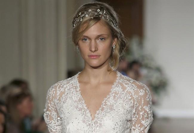 cfb98172db95 New York  in passerella la sposa di Jenny Packham - Style.it