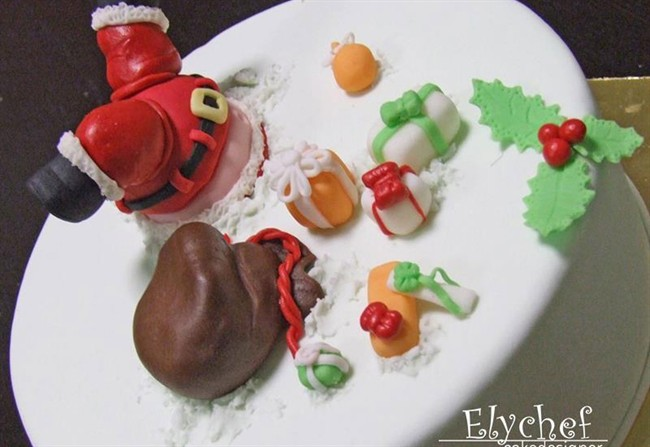 Babbo Natale Sulla Torta Styleit