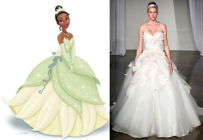 3be8fb7f9c95 Ecco le principesse Disney  per abiti nuziali… da favola! - Style.it