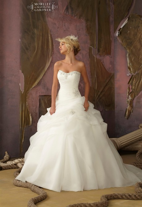 badc84ed86b4 abiti da sposa Mori Lee - Style.it