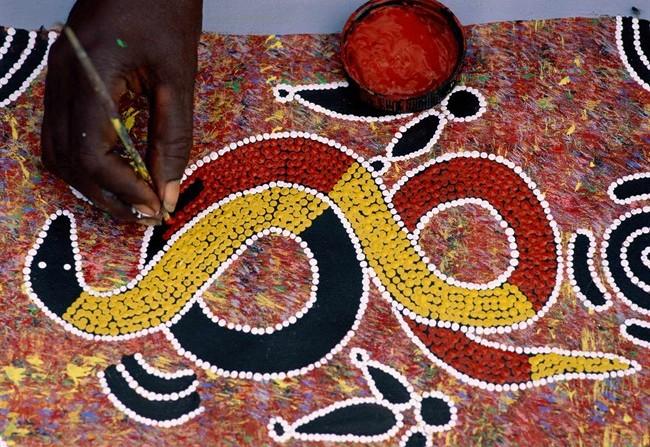 Dreamtime l 39 arte aborigena in mostra a milano for Arte aborigena