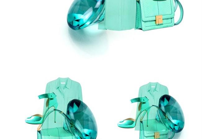 scarpe color acquamarina