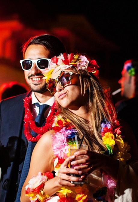 Matrimonio Tema Hawaii : California dreamin il matrimonio di elisa e giovanni style
