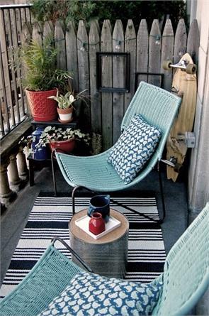 idee per arredare un balcone piccolo - style.it - Idee Per Arredare Un Piccolo Terrazzo