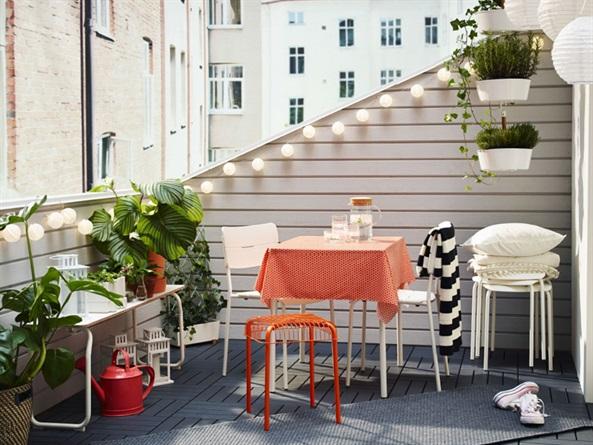 Arredi Per Piccoli Balconi : Ikea: mobili per balconi piccoli style.it