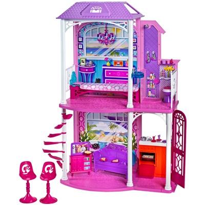 barbie nuova casa glam<br - giochi bambino - mattel - style.it - Giochi Di Cucina Di Barbie